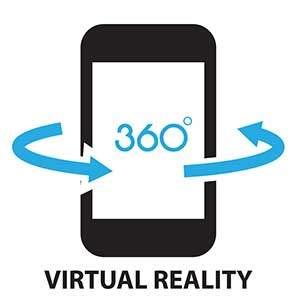 Auch Smartphones werden zukünftig mit 360 Grad Kameras ausgestattet werden.